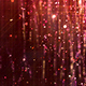 Red Glossy Rain Background with Glitter Particles - VideoHive Item for Sale