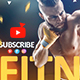 Fitness & Gym YouTube Banner - GraphicRiver Item for Sale