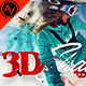 3D Shatter Photoshop Action CS5+ - GraphicRiver Item for Sale