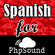 Spanish Language for phpSound - Music Sharing Platform