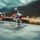 Two sportsmans on the bicycles - PhotoDune Item for Sale