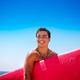Happy boy enjoying surfing - PhotoDune Item for Sale