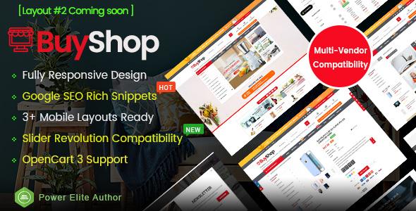 BuyShop - Responsive & Multipurpose OpenCart 3 Theme
