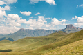 View of the Amphitheatre as seen from Witsieshoek Mountain Resort - PhotoDune Item for Sale