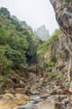 Devils Tooth Gully with Devils Tooth and Toothpick in back - PhotoDune Item for Sale