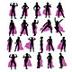 Woman Superhero Silhouettes