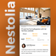Accommodation Booking App UI Set | Nestolia