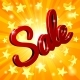 Sale Sign Star Background - GraphicRiver Item for Sale