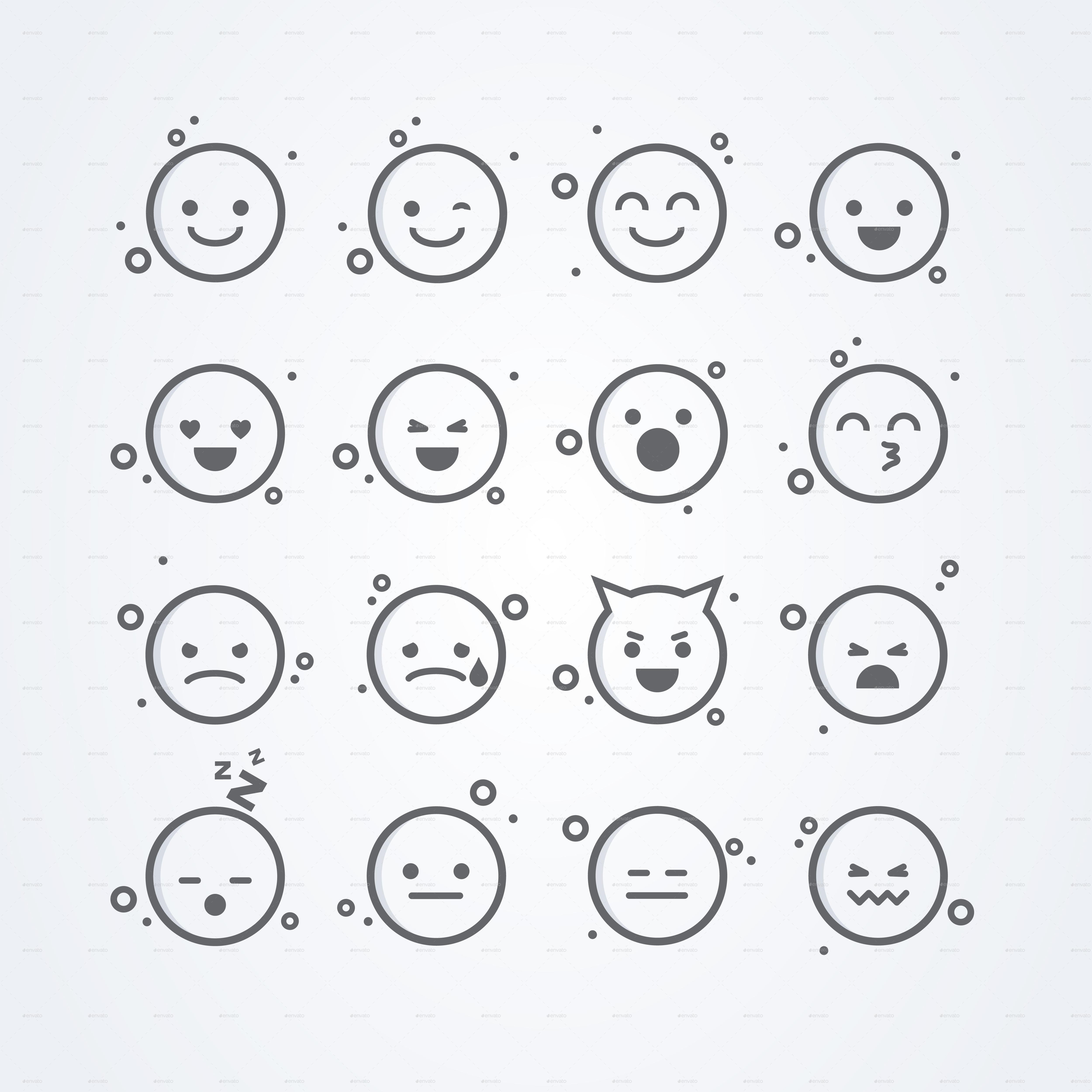 Big Emoji Set
