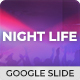 Night Life - Club Google Slide Template