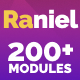 Raniel - Responsive Email with 200+ Modules + MailChimp Editor + StampReady + Online Builder
