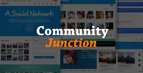 CommunityJunction - BuddyPress Theme - BuddyPress WordPress