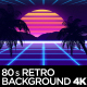 80s Retro Background 4K - VideoHive Item for Sale