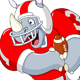 Football Rhino - GraphicRiver Item for Sale