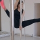 Pole Dancing in Studio on High Heels - VideoHive Item for Sale