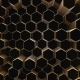 Black-gold Abstract Field Hexagon - VideoHive Item for Sale