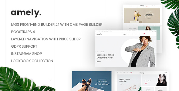 Image of Amely - Clean & Modern Magento 2 Theme