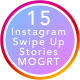 Instagram Swipe Up Stories | MOGRT - VideoHive Item for Sale