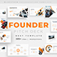 Founder Pitch Deck Powerpoint Template - GraphicRiver Item for Sale