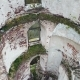 Aerial View on the Ruined Tower of the Chervonohrad Castle Ukraine - VideoHive Item for Sale