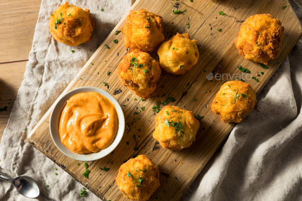 Homemade Deep Fried Potato Croquettes - Stock Photo - Images