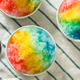 Sweet Homemade Shaved Rainbow Hawaiian Ice - PhotoDune Item for Sale