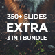 3 in 1 Extra Minimal - Bundle Powerpoint Template