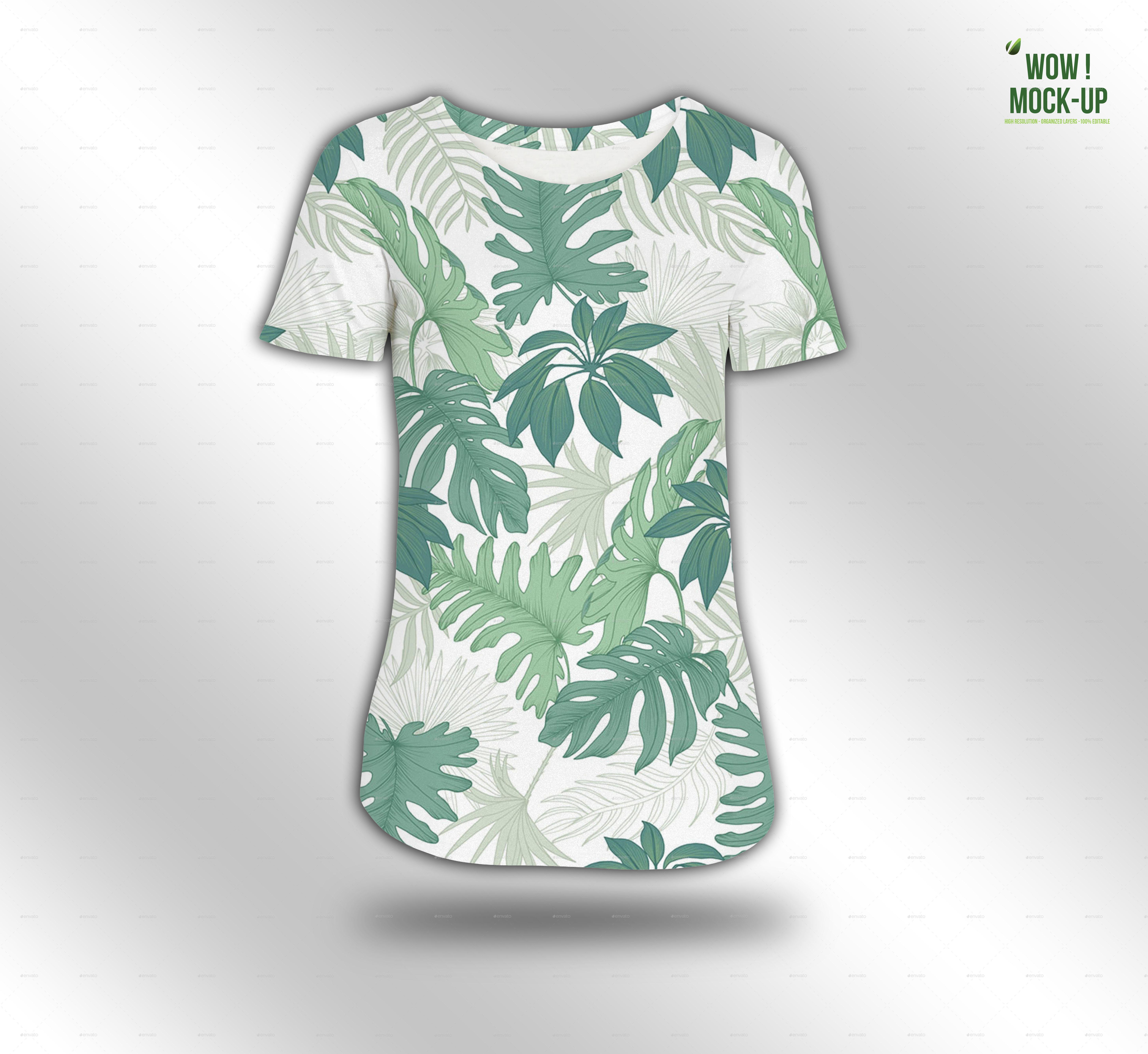 T-shirt Women Mock-up #1