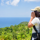 Women tourist on viewpoint at Koh Tao - PhotoDune Item for Sale