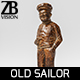 Old Sailor Statuette - 3DOcean Item for Sale