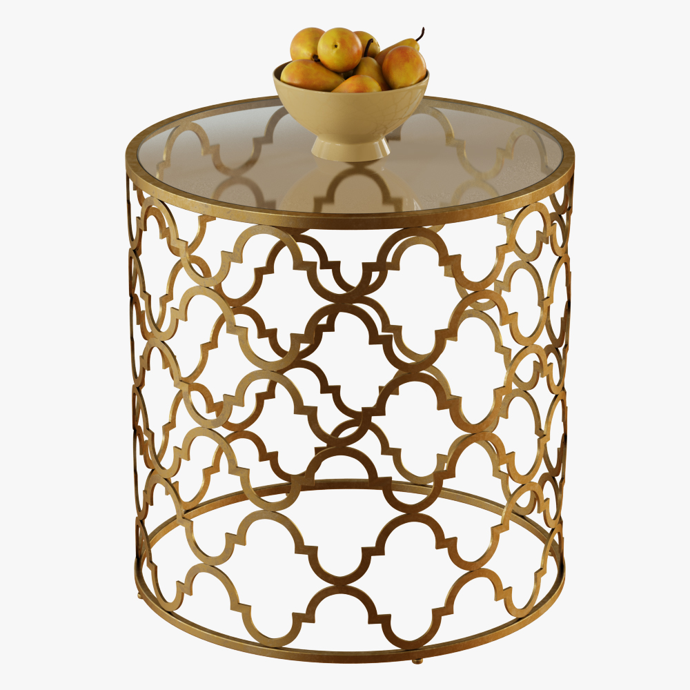 Round Moroccan Side Table_01 ...