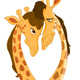 Giraffes in Love - GraphicRiver Item for Sale