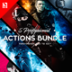 Five Photoshop Actions Bundle - 2018 v2 - GraphicRiver Item for Sale