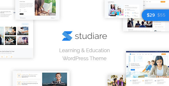 Studiare - Education WordPress Theme for Univeristy & Online Courses - Education WordPress