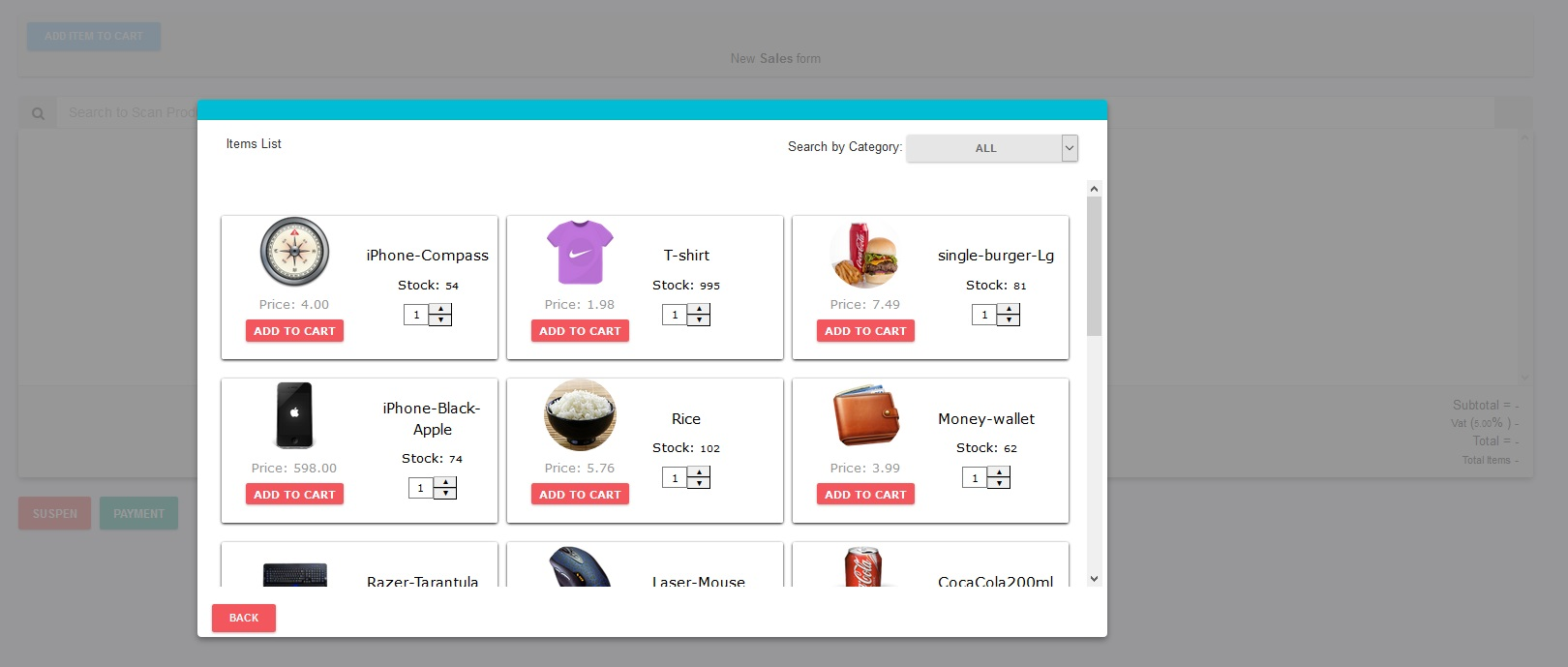 Inventory Management with POS