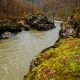 Autumn Landscape with Mountain River - VideoHive Item for Sale