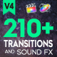 FCPX 210+ Transitions and Sound FX - VideoHive Item for Sale