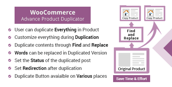 WooCommerce Advanced Product Duplicator            Nulled