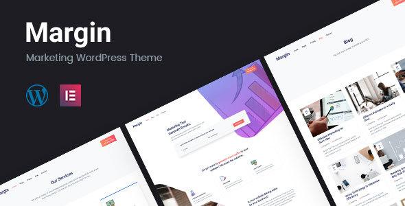 Margin | Marketing WordPress Theme