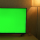 Green Screen Tv at Office - VideoHive Item for Sale