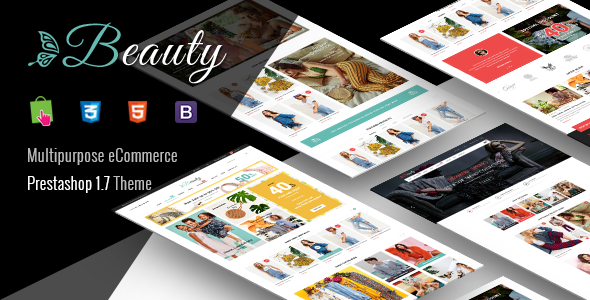 Beauty - Modern Responsive PrestaShop 1.7  Fashion Theme - Shopping PrestaShop
