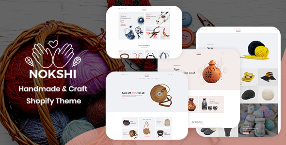 Image of Nokshi - Handmade & Craft Shopify Theme