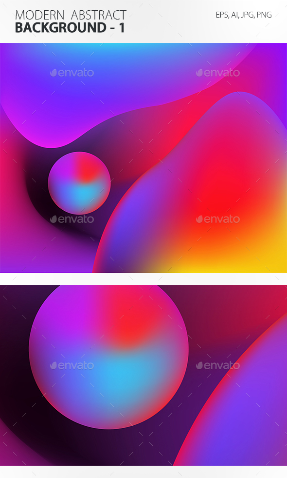 Modern Abstract Background 1 - Abstract Backgrounds