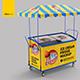 Ice Cream Fridge Mockup - GraphicRiver Item for Sale