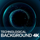 Technological Background 4K - VideoHive Item for Sale