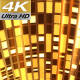 Gold 3D Stage Dance 4K - VideoHive Item for Sale