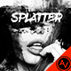 Ink Splatter Photoshop Template - GraphicRiver Item for Sale