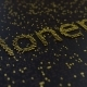 Monero Word Made of Moving Golden Numbers - VideoHive Item for Sale