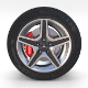 Mercedes G Class Wheel Full - 3DOcean Item for Sale