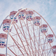 Retro toned picture of a Ferris wheel. - PhotoDune Item for Sale